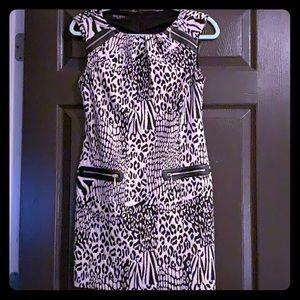 Leopard Nine West dress